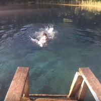 [VLOG #6] Голубое озеро в Казани, прыжок с дерева, crossfit