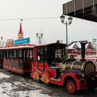 Кремлевская набережная в Казани — каток не советую!