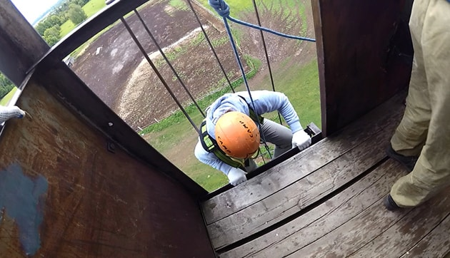 Мой первый прыжок Rope Jumping (прыжок с веревкой)