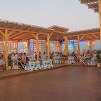 Обзор летней террасы ресторана «Ван Гог» в Казани