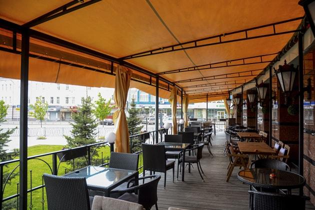 ТОП-10 лучших летних террас в Казани