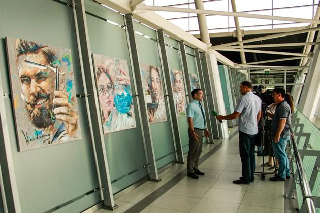 """Выставка """"Люди труда"""" открылась в казанском аэропорту"""