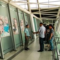 Выставка «Люди труда» открылась в казанском аэропорту