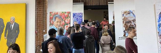 """Выставка """"Слова. Цветы"""" в галереи OZX в Смене"""