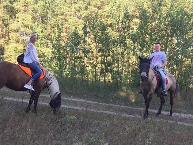 Конные прогулки в Казани. Цель №3