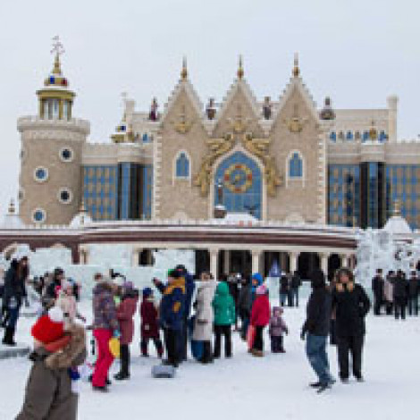 Ледяной городок 2015
