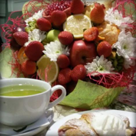 Букет из фруктов — офигенный подарок =)