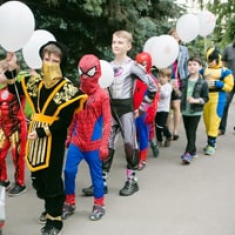 Парад Супергероев в Казани + анонс конкурса